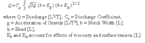 Oconee dam, equation