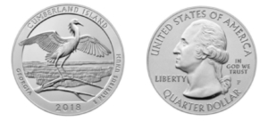 cumberland island coin, two sides
