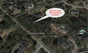tree ordinance, locator map