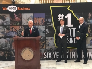 Gov. Deal best state for business