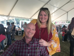 Jay Lanier and Melissa Langford Heflin