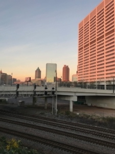 Downtown's Gulch is worth little in property taxes now, but Atlanta Public Schools, worried about an eroding tax base, want the right to collect property taxes on a publicly subsidized private development planned for the site. Credit: Kelly Jordan