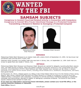 wanted poster, cyber attack