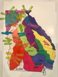 water basin, senate districts