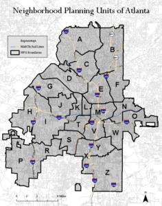 NPU, map