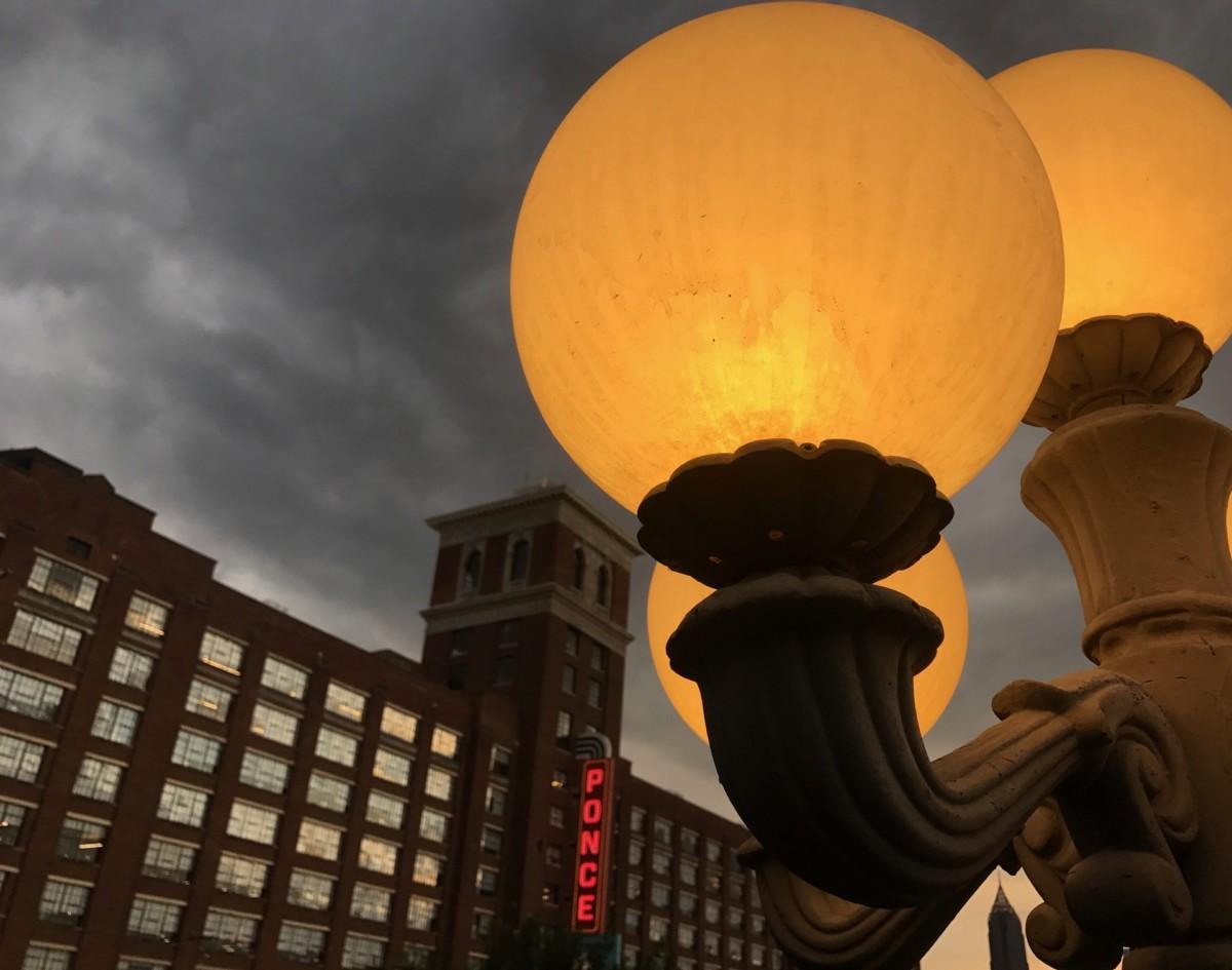 Ponce City Market, lamp