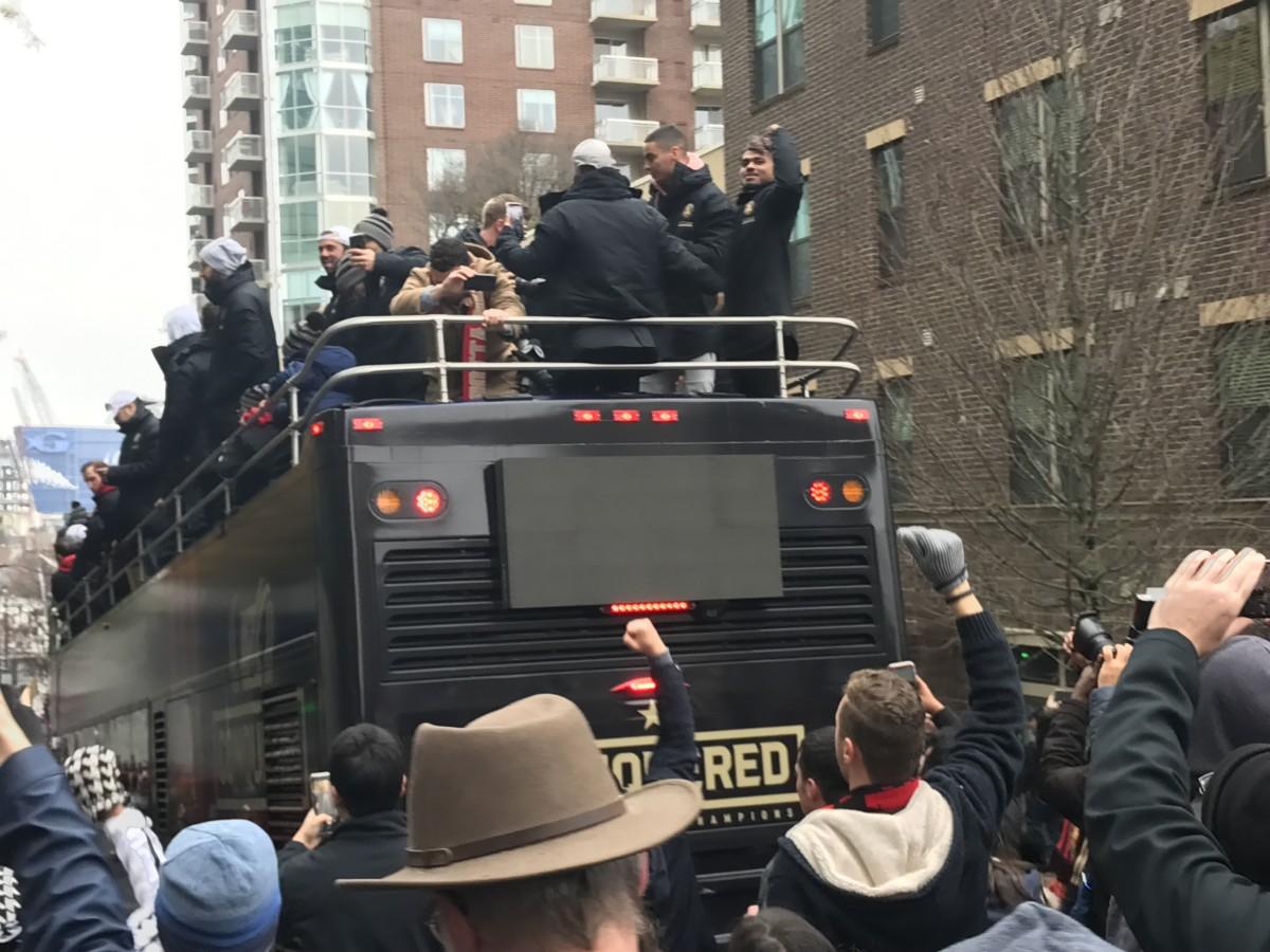 MLS parade