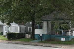 English Avenue, houses