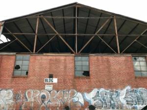 old farmers market, graffitti