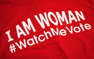 GBPI, I am woman, watch me vote