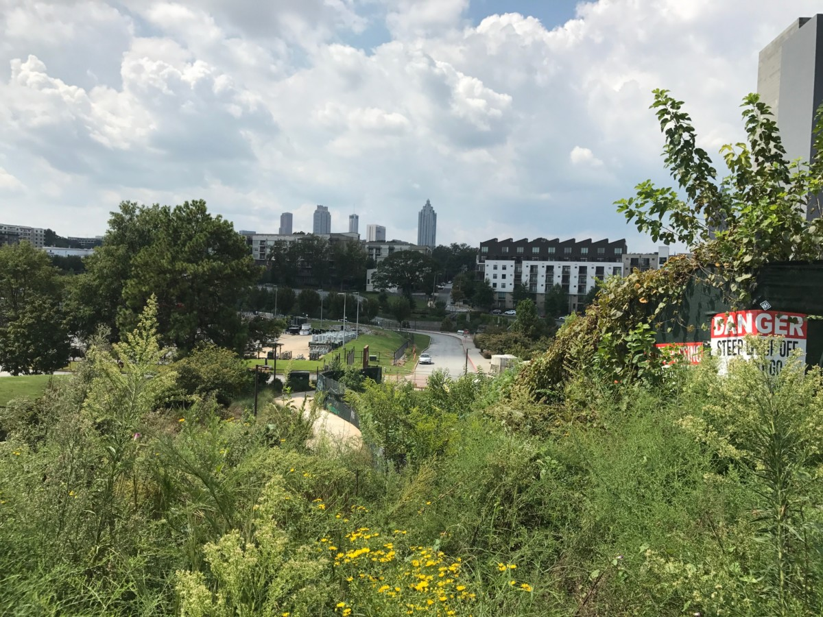 Atlanta BeltLine, west of North Avenue