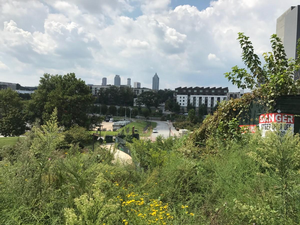 Atlanta BeltLine, west of North Avenue