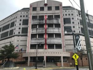 Atlanta city jail, front