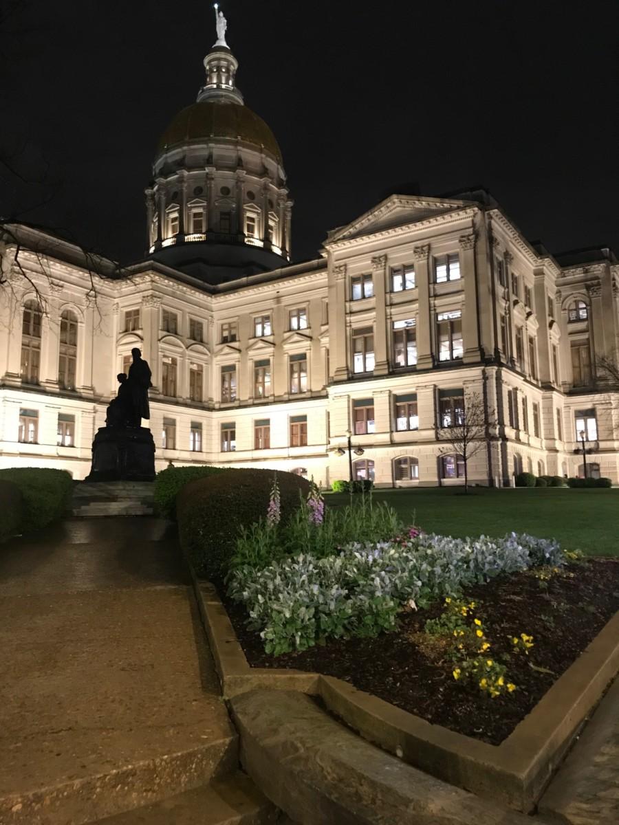 Georgia's state Capitol. Credit: Kelly Jordan
