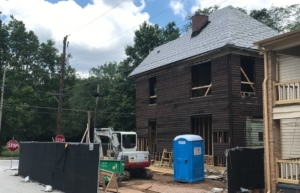 Old Fourth Ward, construction