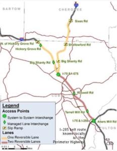 Northwest Corridor, us dot map