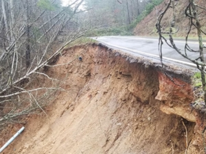 Pickens County washout