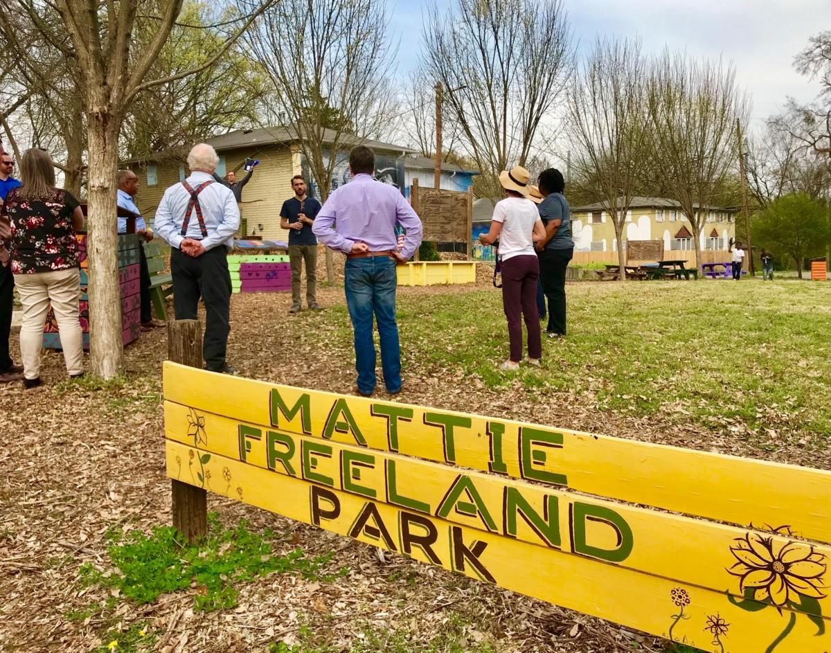 Mattie Freeland Park