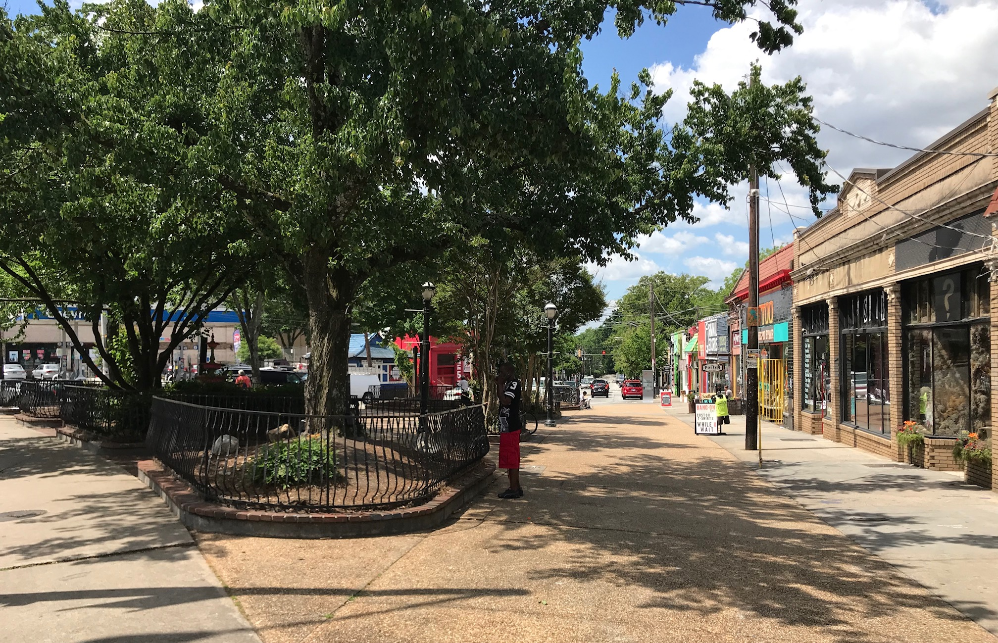 Little Five Points, Euclid Avenue
