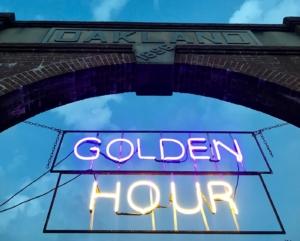 Oakland Cemetery, golden hour 2018