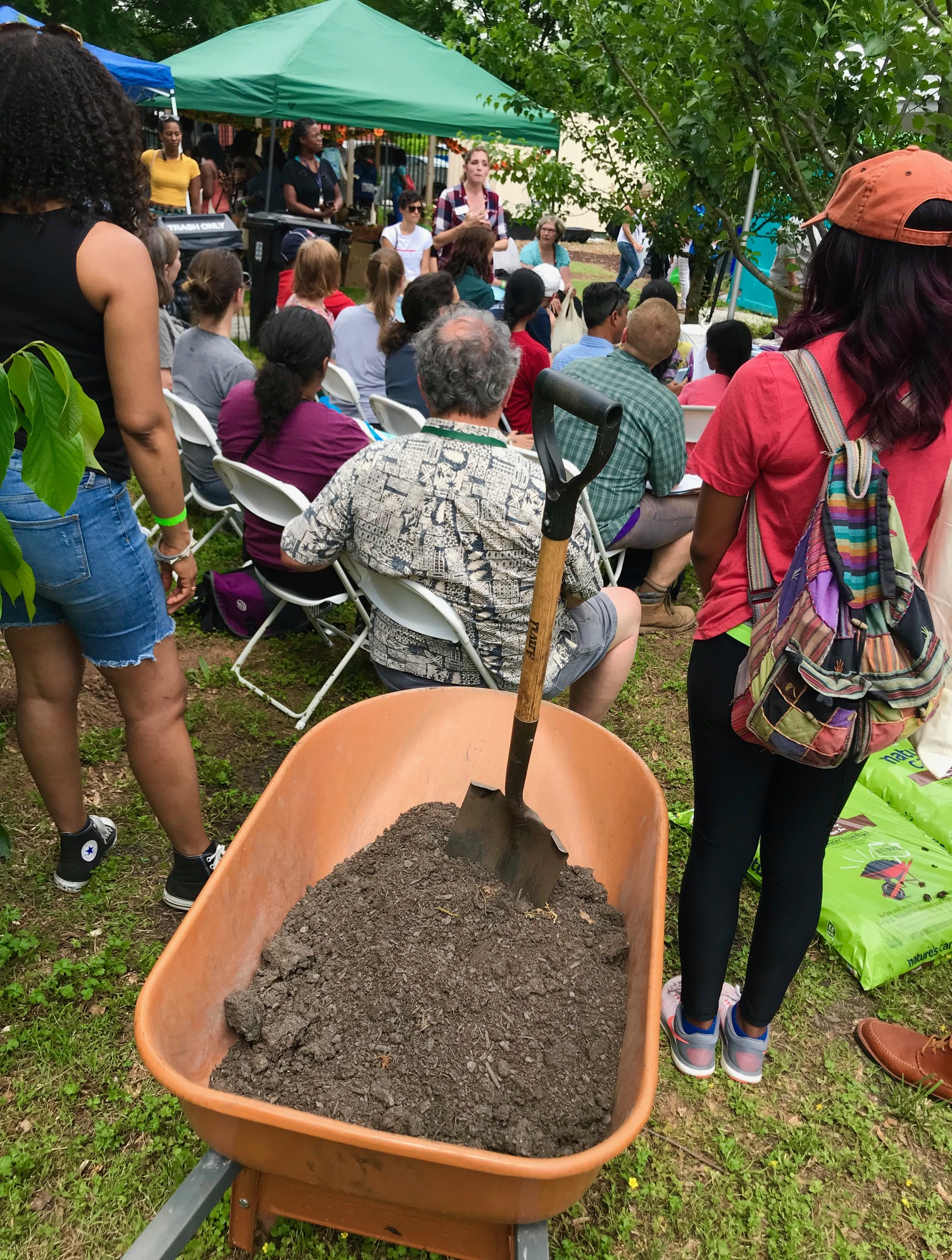Food Well Alliance Soil Festival at Truly Living Well 2019 by Kelly Jordan