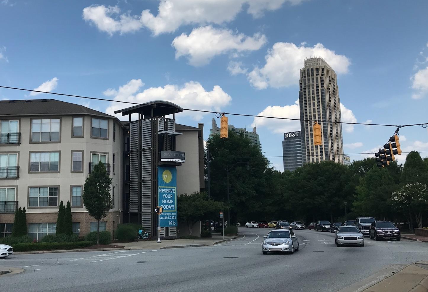 apartment rates, atlantic station