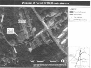 MARTA, surplus land, brooks avenue