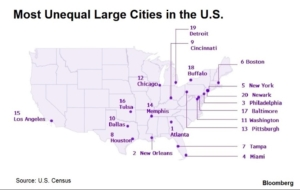 unequal cities map