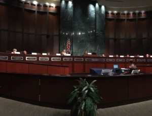 The Atlanta Task Force for the Promotion of Public Trust, which met on Tuesday evening, is set to come up with recommendations for the city by September. Credit: Maggie Lee