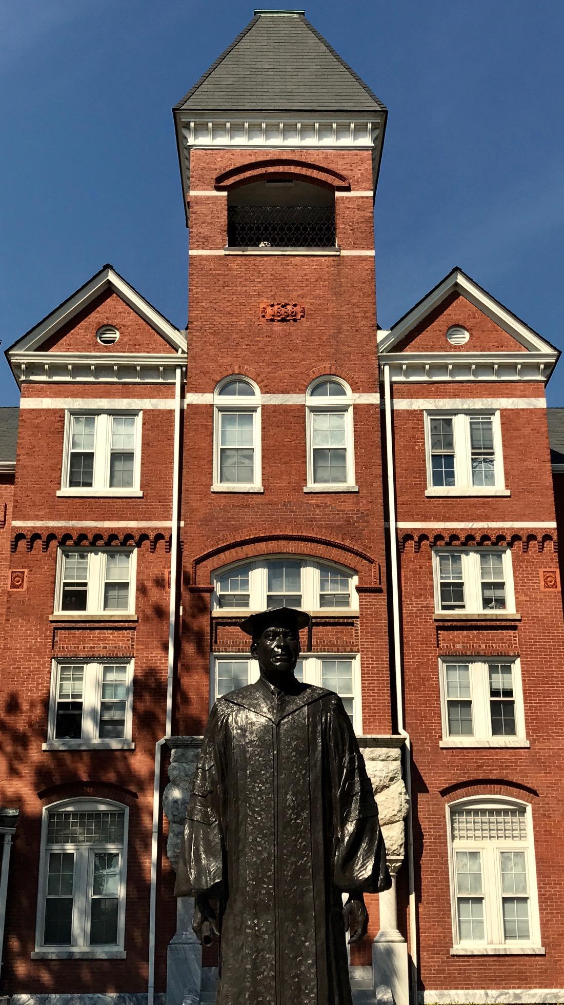Benjamin E. Mays at Morehouse College by Kelly Jordan