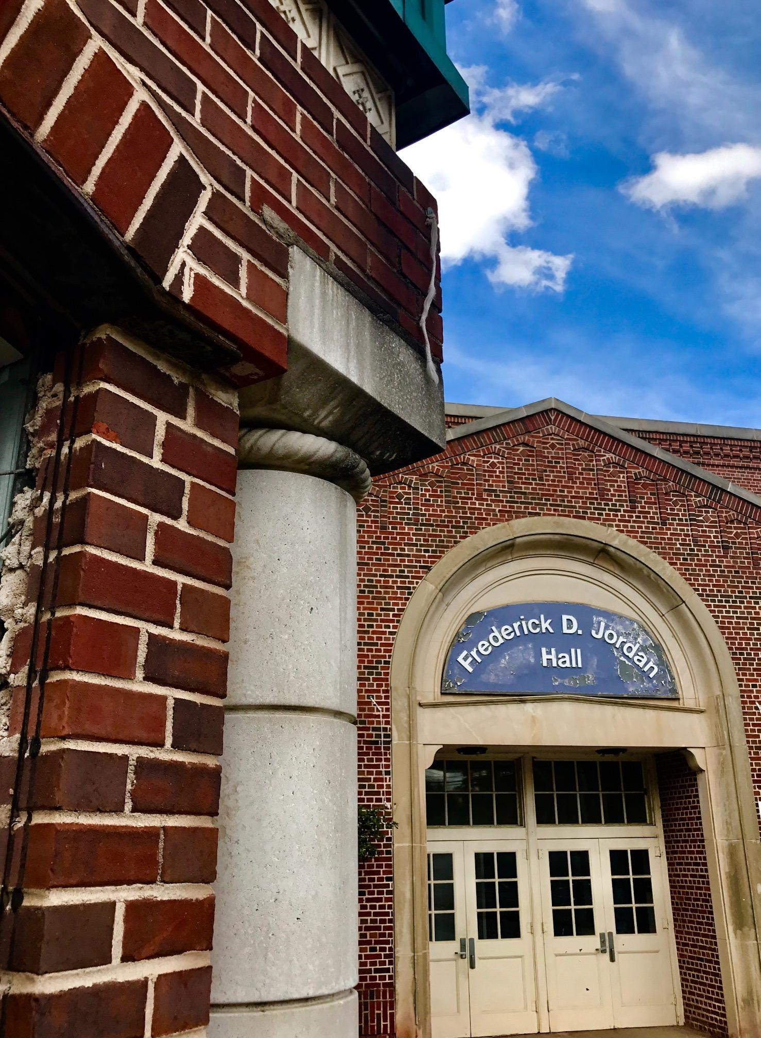 Former Jordan Hall/E. A. Ware School. Photo by Kelly Jordan