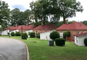 Defending Fort McPherson (Photo by Kelly Jordan)