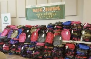 ICNA backpacks