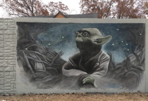 PATH400, chalk art