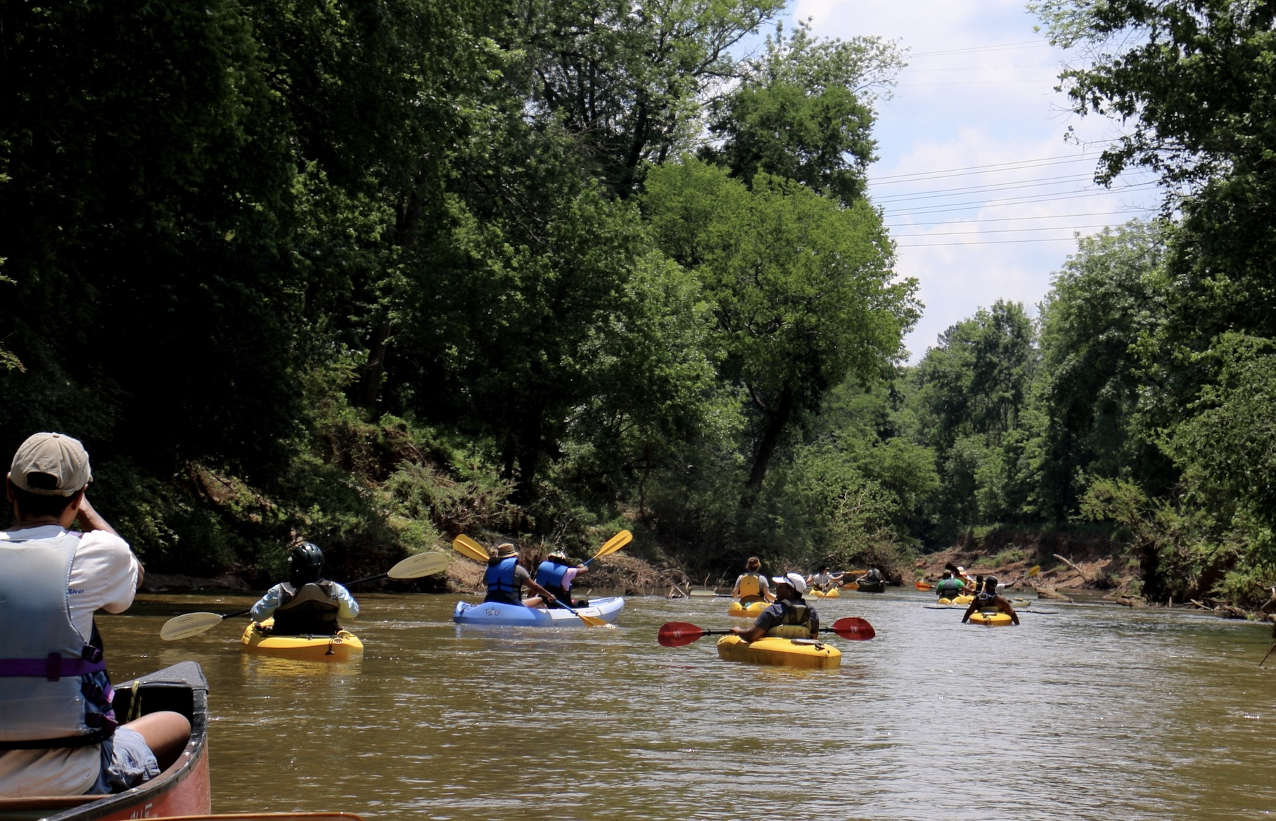 South River, paddlers, may 19, 2019