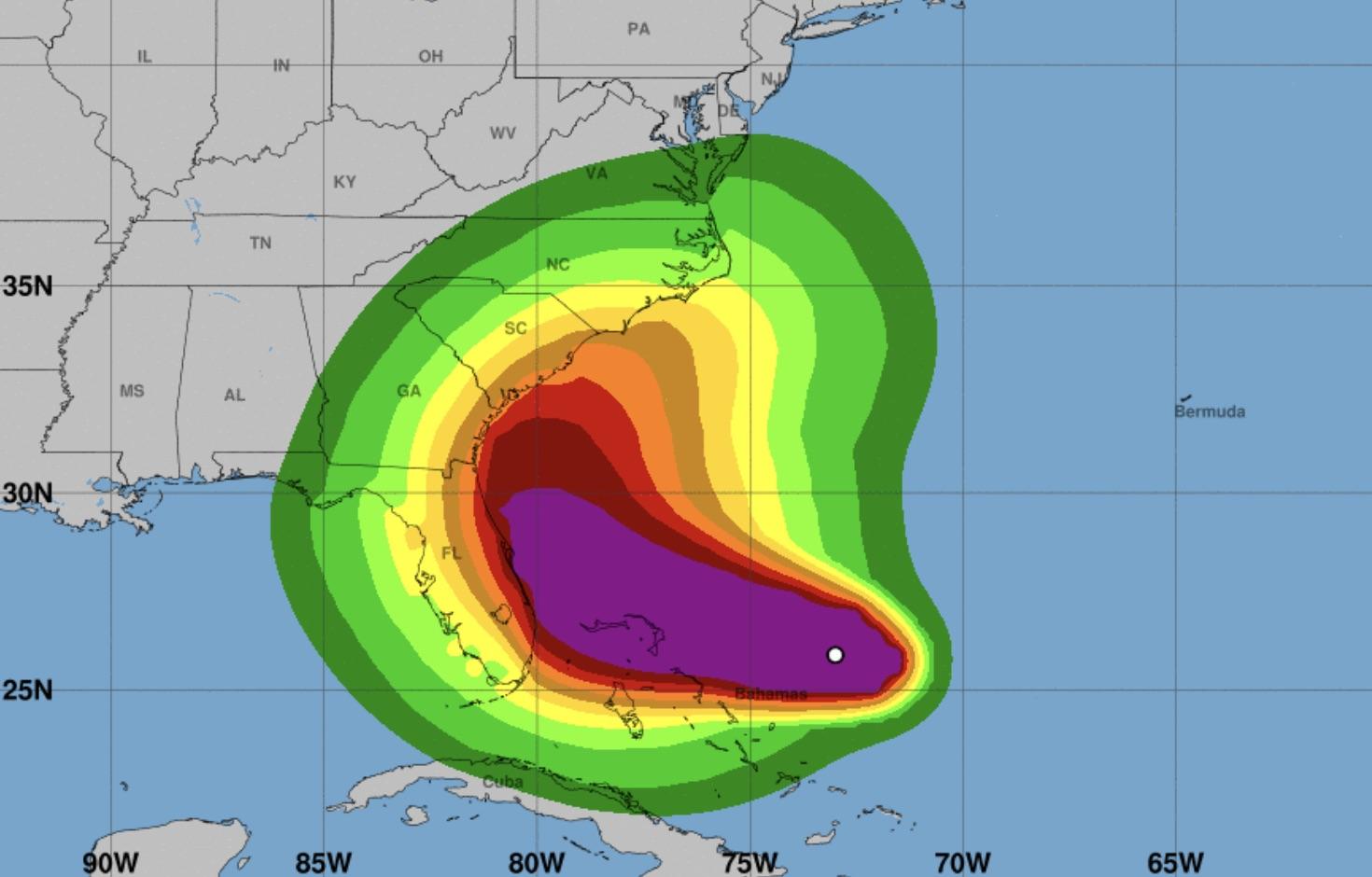 hurricane dorian, homepage