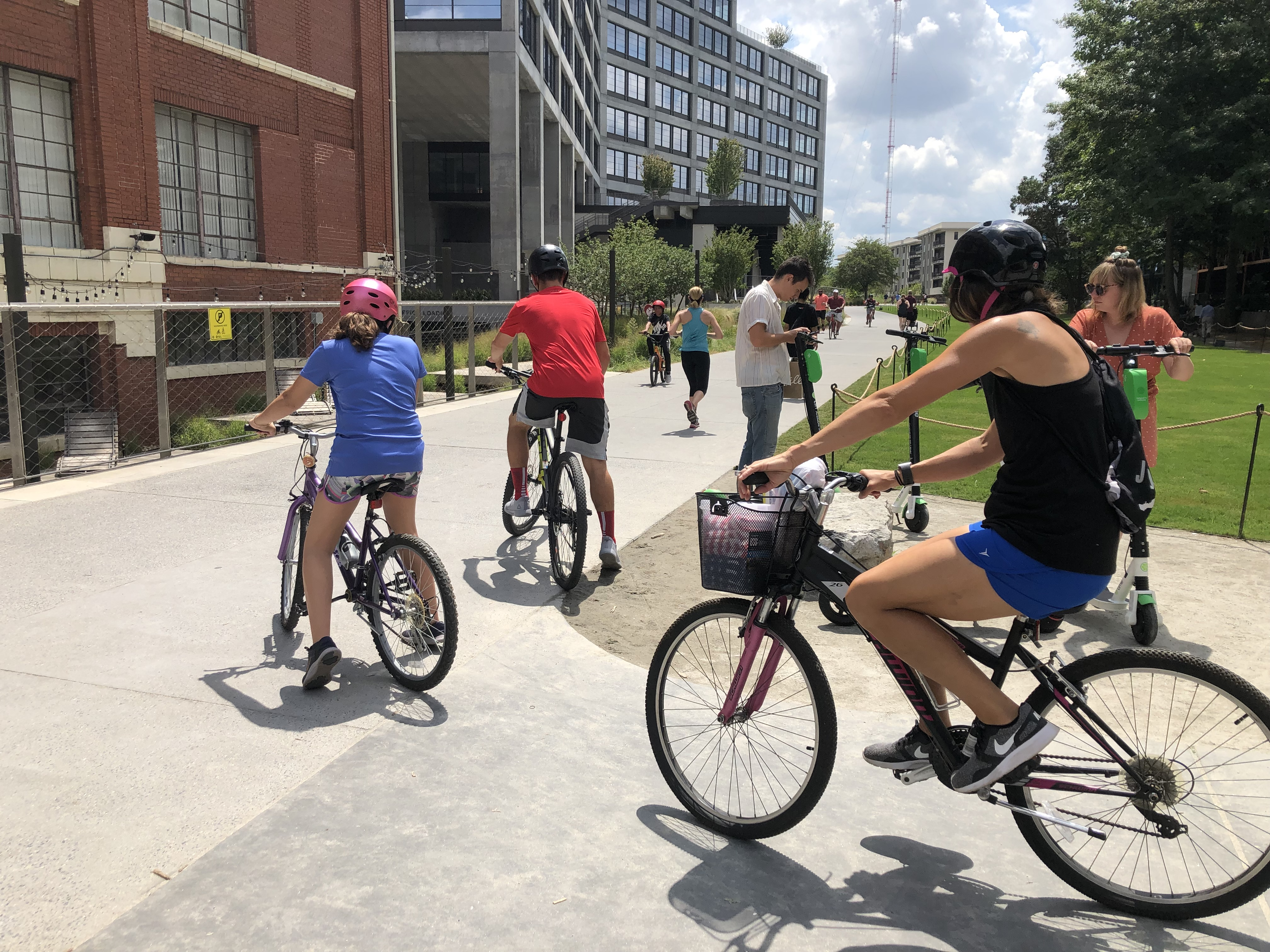 Kevin Posey, BeltLine, bikes