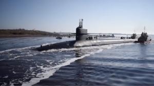Kings Bay, USS Rhode Island ballistic missile sub