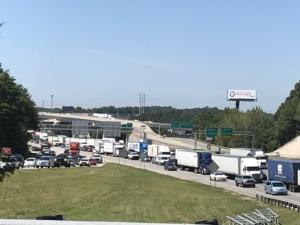Traffic congestion, I-285