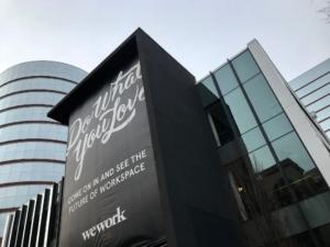 WeWork, flex space