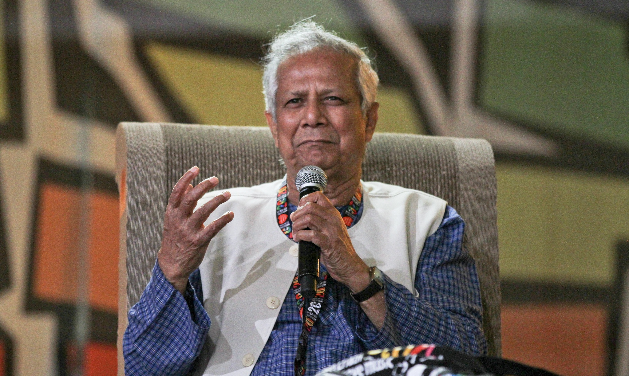 Muhammed Yunus, 2014, Woodstock