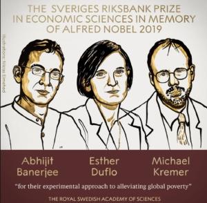 Nobel prize, economics, 2019