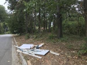 Turner Street, dumping