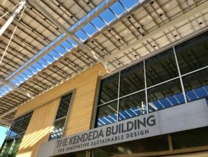 kendeda building, marquee
