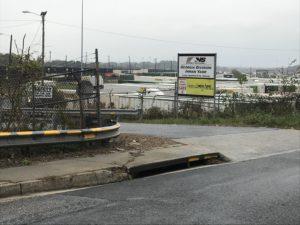 Norfolk Southern, Inman Yard, sign