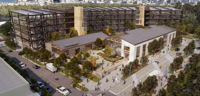 Echo Street West sketch aerial view