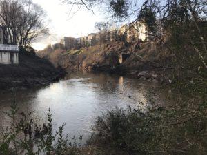 Peachtree Creek, confluence
