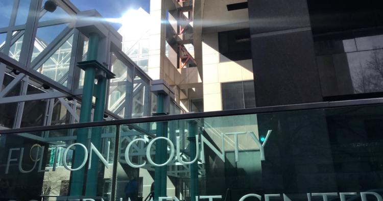 Fulton County Government Center (Credit: Kelly Jordan)