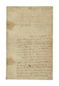 hancock letter, top