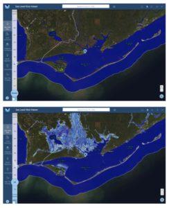 sea level rise, apalachicola